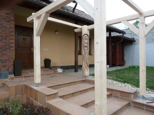 drevená stojka
