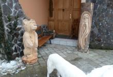 Drevené sochy