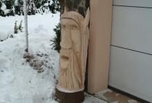 Drevený čert