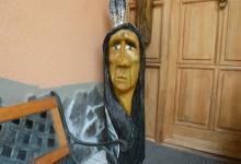 drevený indián