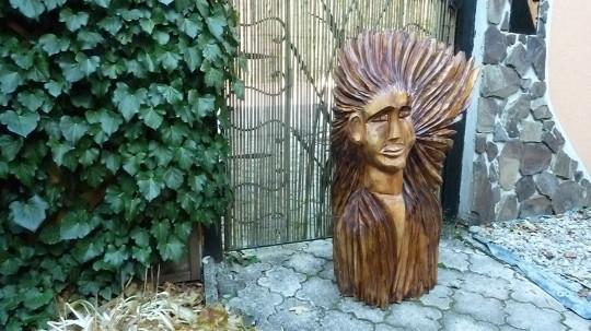 drevená žena