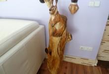 24 – Zvieratá; výška: 118cm; cena: 250€