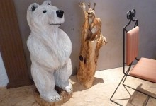 Drevený medvedík