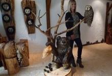 Drevený medvedík 1300€