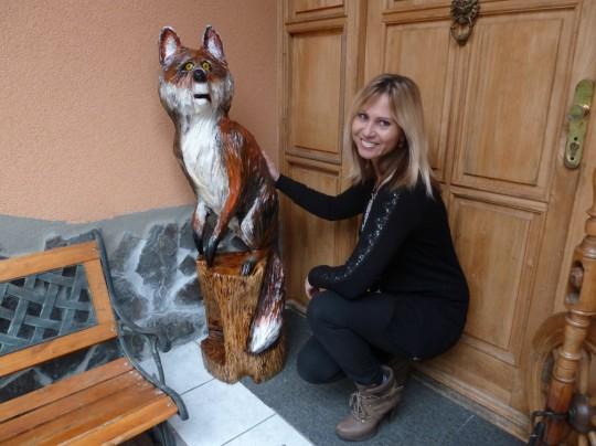 drevená líška