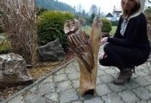 Drevená sova