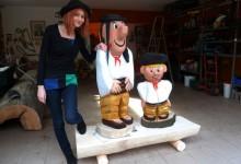 Maťko a Kubko z dreva 800€