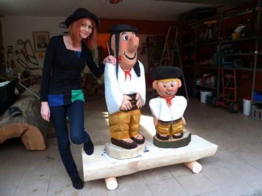 drevený maťko a kubko