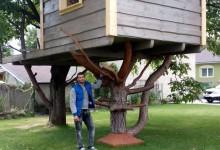 Domček na strome pre deti aj dospelých
