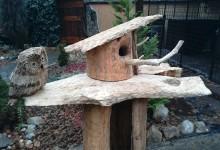 Búdka pre vtáky, krmítko