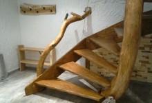 Drevené samonoské schody