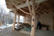 Drevený altánok do záhrady