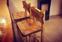 Barové stoličky,umelecky spracované