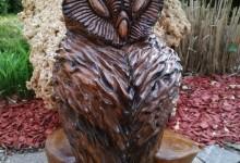 Drevená sovička