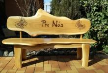 Dubová lavička