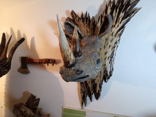 Hlava nosorožca